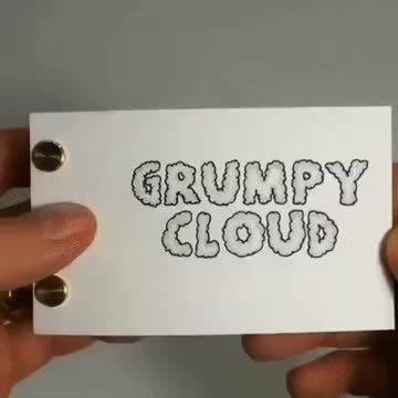 cloud, clouds, nature, Grumpy Cloud GIFs