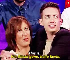 Watch and share Kevin Mchale GIFs and Miranda Hart GIFs on Gfycat