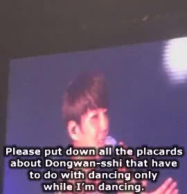 Watch KIM DONGWAN is... GIF on Gfycat. Discover more XDDDDDD, concert, gif, kim dongwan, shin hyesung, shinhwa, wansyung, we GIFs on Gfycat