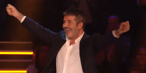 awesome, celebrate, excited, great, happy, simon, win, winner, yeah, yes, Simon is happy GIFs