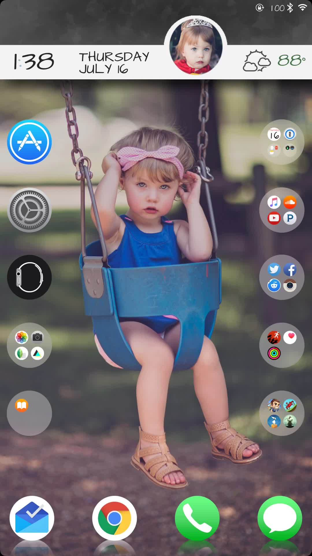 iosthemes, jailbreak, iWidget GIF Test GIFs