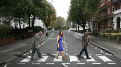 AbbeyRoad, BattleBots, It's like a #BattleBots Abbey Road! GIFs