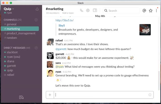 Watch Capture Slack messages,, and tasks in a channel notepad GIF on Gfycat. Discover more related GIFs on Gfycat