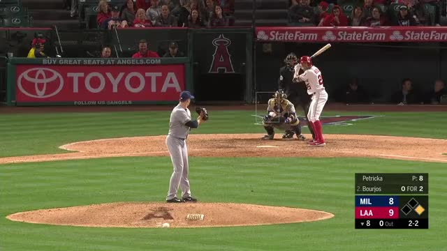 Watch and share Los Angeles Angels GIFs and Milwaukee Brewers GIFs by r_amore on Gfycat