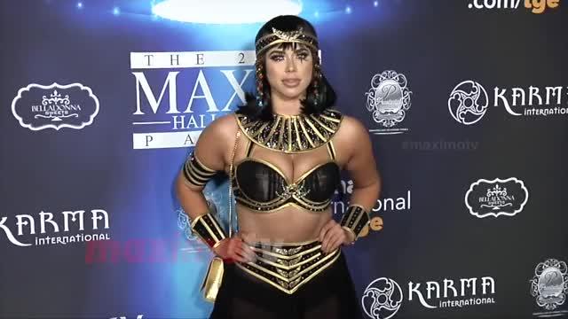 Antje Utgaard 2017 Maxim Halloween Party