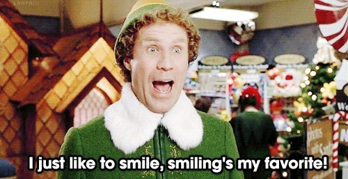 elf, smile, smiling, will ferrell, Second breakfast GIFs