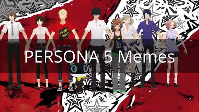 Watch Persona 5 Memes | Dank Compilation #19? GIF on Gfycat. Discover more atlus, persona, youtube editor GIFs on Gfycat