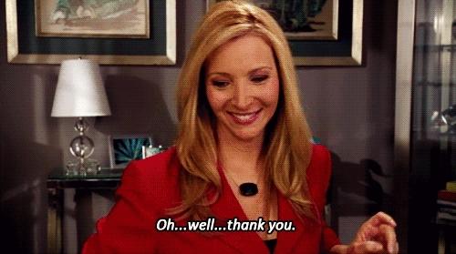 Lisa Kudrow, blessing, thanks, thankyou, thank you GIFs