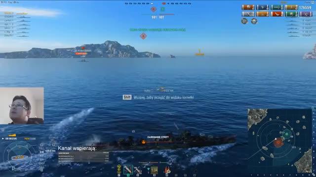 Watch Akizuki rankingówki - World of Warships replays #66 GIF on Gfycat. Discover more related GIFs on Gfycat