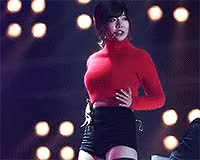 Watch and share Sunny+SNSD+Girls+Generation+Sexy+in+Red+ GIFs on Gfycat