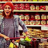Watch Jolene idly stood in the produce section of the grocery stor GIF on Gfycat. Discover more be her friend, chwstarter, i just had a lot to say in order to set this up lololol, just like talk to my bb, omfg pls don't think your reply needs to be anywhere near this length, she is awk and thinks shes funny idk ok, you reply could be like one sentence and i'd be happy GIFs on Gfycat