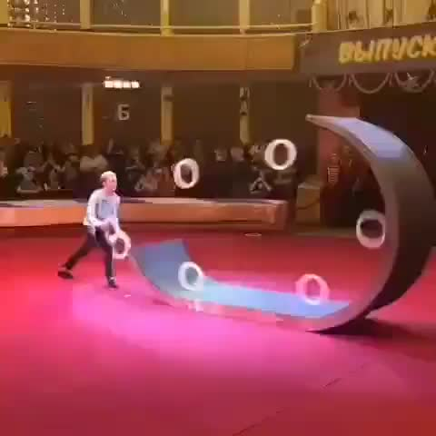 Watch Impressive ring juggling performance GIF by tothetenthpower (@tothetenthpower) on Gfycat. Discover more related GIFs on Gfycat