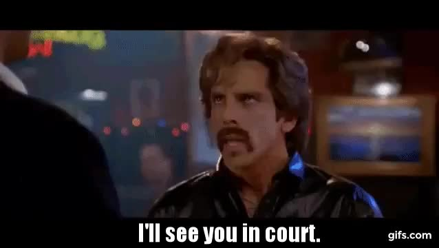 Watch SEE YOU IN COURT GIF by @parsonf on Gfycat. Discover more ben stiller, immigrationban, muslimban, seeyouincourt, trump GIFs on Gfycat