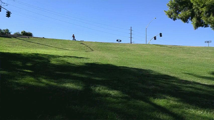 bikes, holdmyjuicebox, kids, 4 yr old rips down hill GIFs