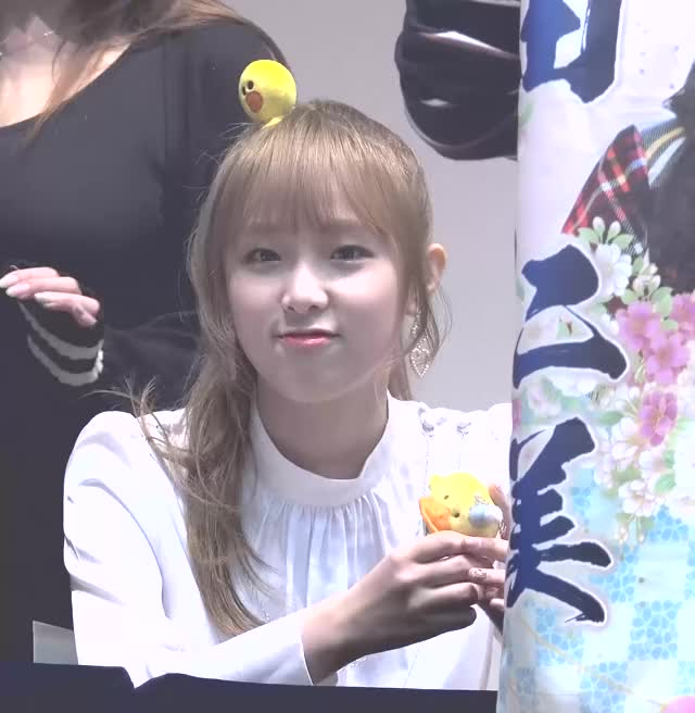 Watch 181104 IZONE Yena - Fansign (2) GIF by My Gif Factory (@forever9diadem) on Gfycat. Discover more related GIFs on Gfycat