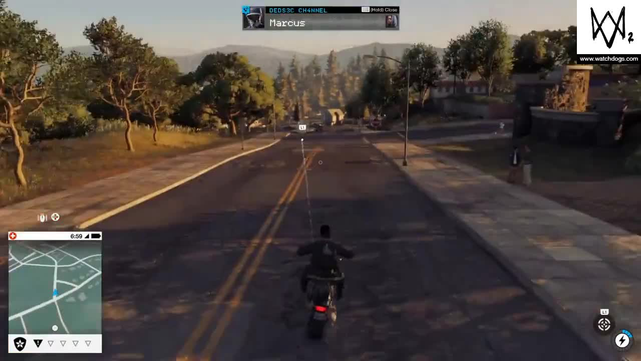 WATCH DOGS 2 Barrel roll GIFs