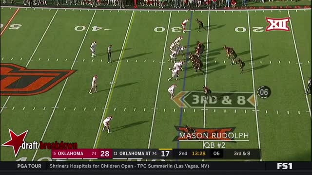 Watch and share Oklahoma State GIFs and Mason Rudolph GIFs on Gfycat