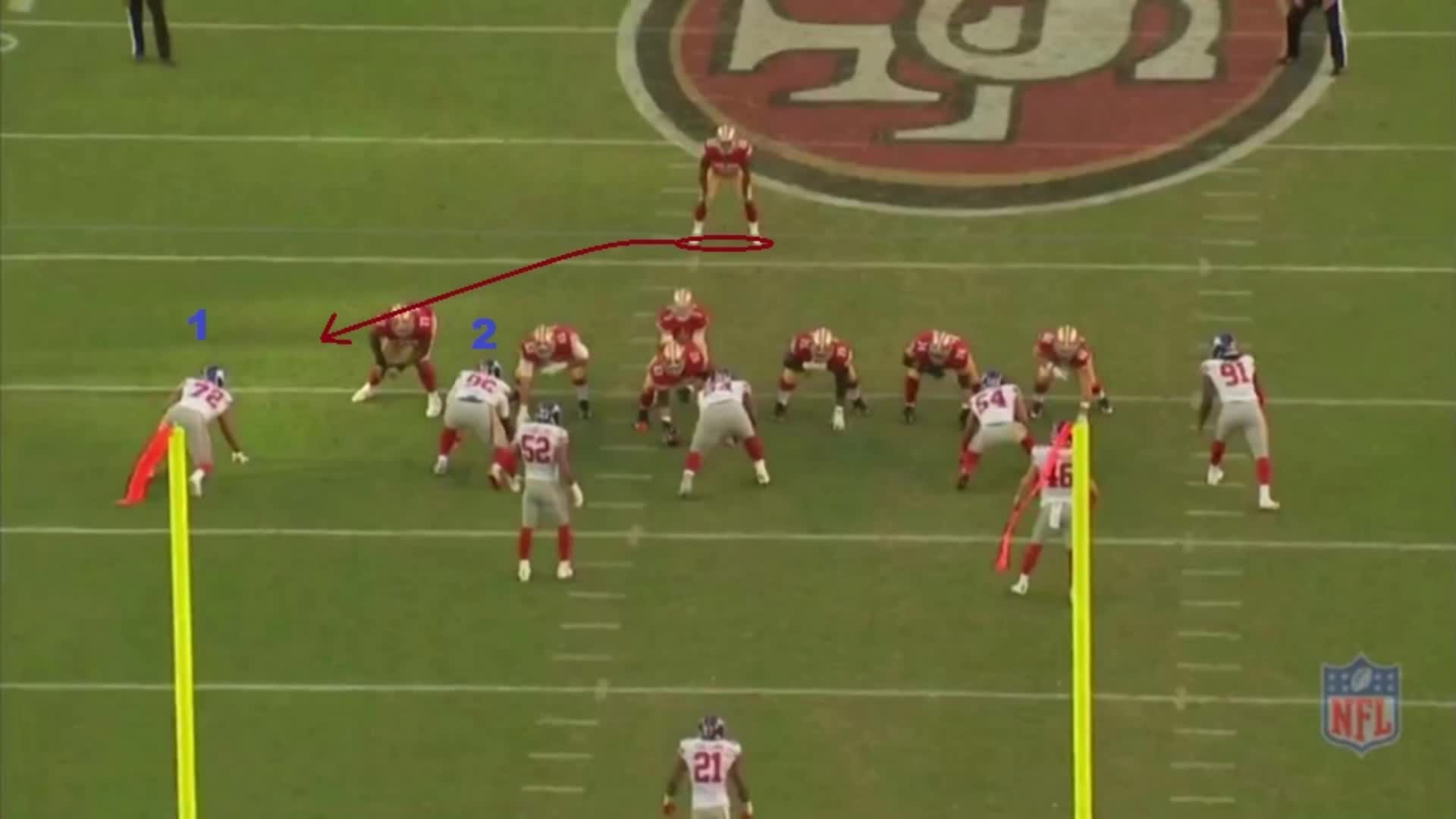football, 49ers run GIFs