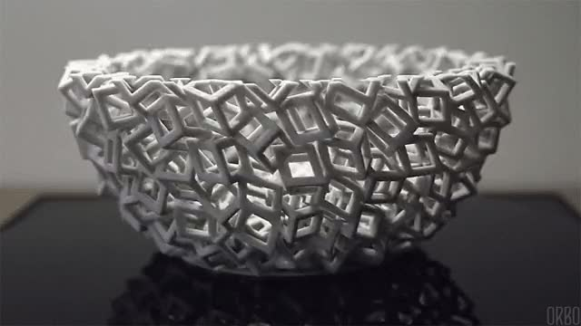 Watch and share Falling Cubes 3D Printed Zoetrope Larger  Link GIFs on Gfycat