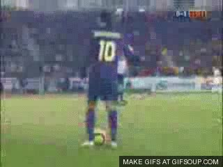 Watch and share Ronaldinho Gaucho GIFs on Gfycat