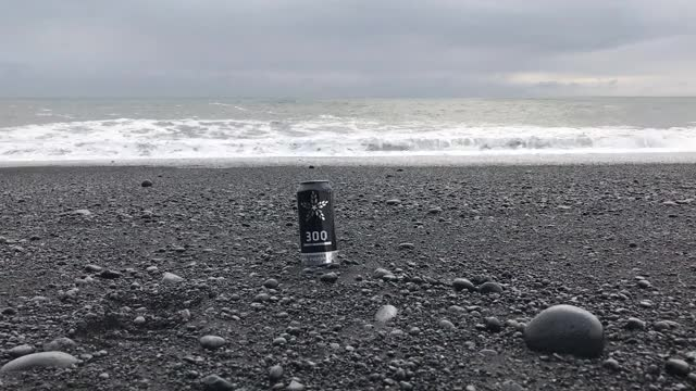 Watch and share Fulton 300 IPA On Reynisfjara In Iceland GIFs by Craft Beer Time on Gfycat