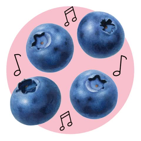 Watch and share Gallery Dancing Blueberries GIFs on Gfycat