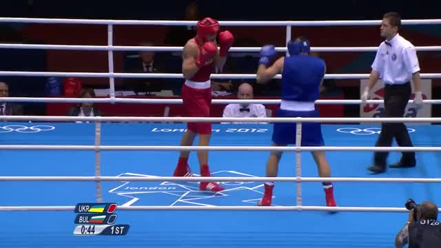 Watch Oleksandr Usyk drops Tervel Pulev in their Semi-Final of the London Olympics. GIF by @redditmedia on Gfycat. Discover more boxing GIFs on Gfycat