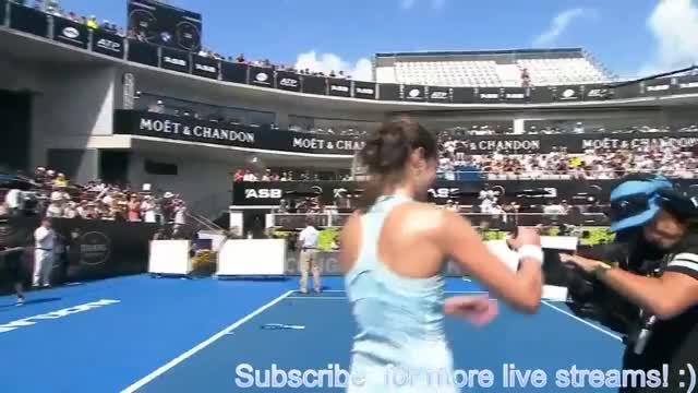 Watch and share Wozniacki Goerges GIFs on Gfycat