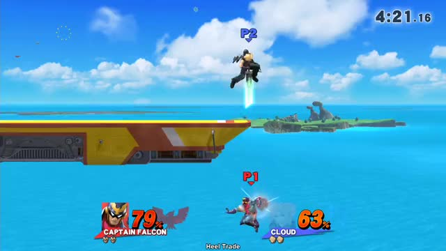 Watch Heel Trade GIF by cookerlv on Gfycat. Discover more captain falcon, cloud, smash bros GIFs on Gfycat
