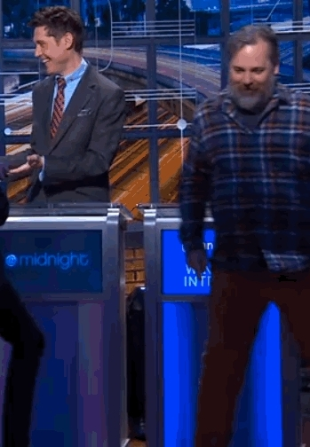 Chris Hardwick, Harmontown, funny, harmontown, Dan wins @midnight (reddit) GIFs
