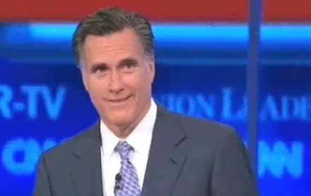 Watch and share Romney Laugh GIFs on Gfycat