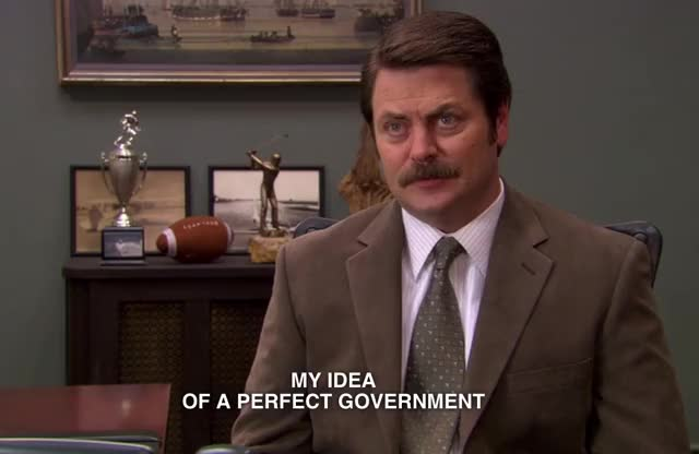 Watch this parks and rec GIF by Pakalu Papito (@entfanatic) on Gfycat. Discover more andy dwyer, ann perkins, april ludgate, ben wyatt, chris traeger, donna meagle, government, leslie knope, nick offerman, parks and rec, parks and recreation, ron swanson, tom haverford GIFs on Gfycat
