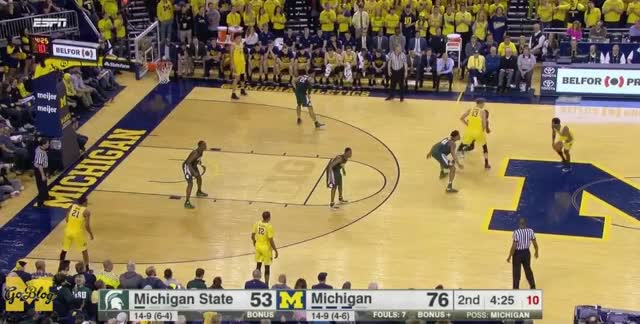 Watch and share Derrick Walton GIFs and Michigan State GIFs by MGoBlog on Gfycat