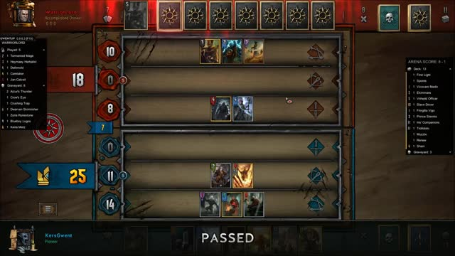 Watch and share Gwent GIFs and Cdpr GIFs by Kers on Gfycat