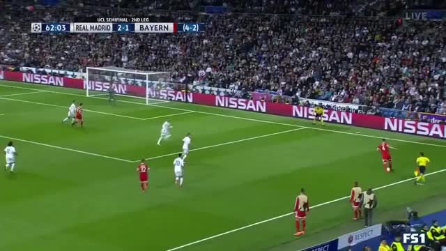 James Rodriguez goal vs Real Madrid 01.05.2018