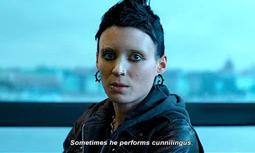 Watch this rooney mara GIF on Gfycat. Discover more **, david fincher, rooney mara, the girl with the dragon tattoo GIFs on Gfycat