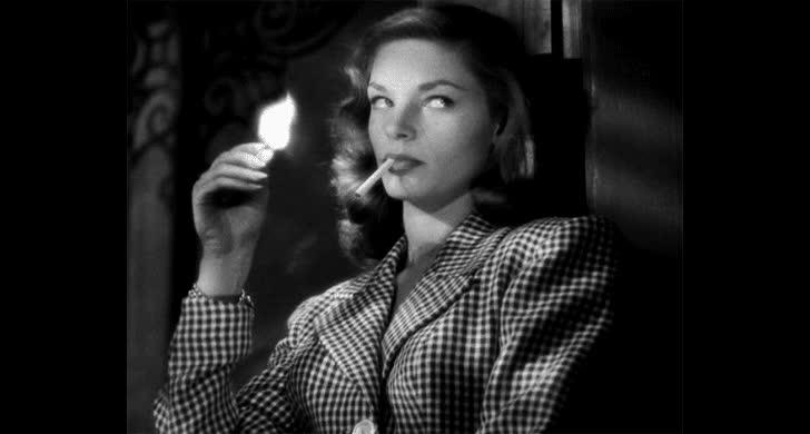 lauren bacall, #TBT: Remembering Lauren Bacall - The Coveteur GIFs