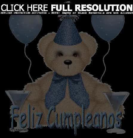 Watch and share Osito Con Mensaje De Feliz Cumplea Os GIFs on Gfycat