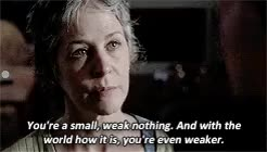 Watch and share Melissa Mcbride GIFs and Carol Peletier GIFs on Gfycat