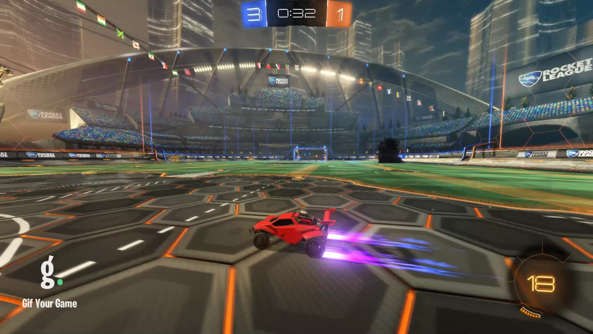 Gif Your Game, GifYourGame, Rabbits, Rocket League, RocketLeague, Assist 4: Rabbits GIFs