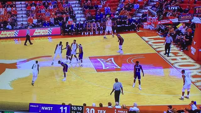 Watch and share NW STATE: Coleman Catches Defense Cheating, Uses Crossover To Drive And Find Open DO GIFs by Dustin McComas on Gfycat