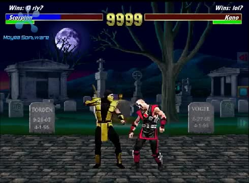 Watch and share Gaming GIFs and Kombat GIFs on Gfycat