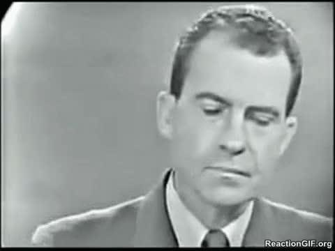 Watch and share Richard Nixon GIFs on Gfycat