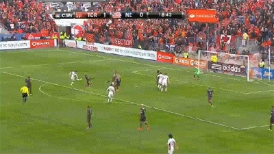 Revs sell out defensively vs. TFC, Part 1 GIFs