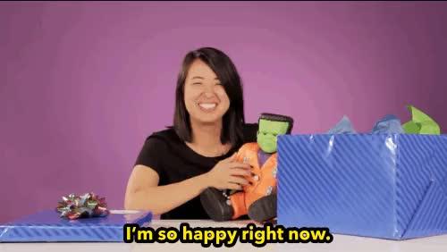 Watch buzzfeedvideo GIF on Gfycat. Discover more 90s kids, 90s toys, ashly perez, buzzfeed, buzzfeed video, buzzfeed violet, lol, omg, presents GIFs on Gfycat
