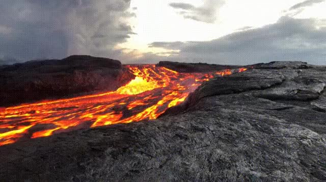 Watch Gorgeous Lava Flow GIF on Gfycat. Discover more related GIFs on Gfycat