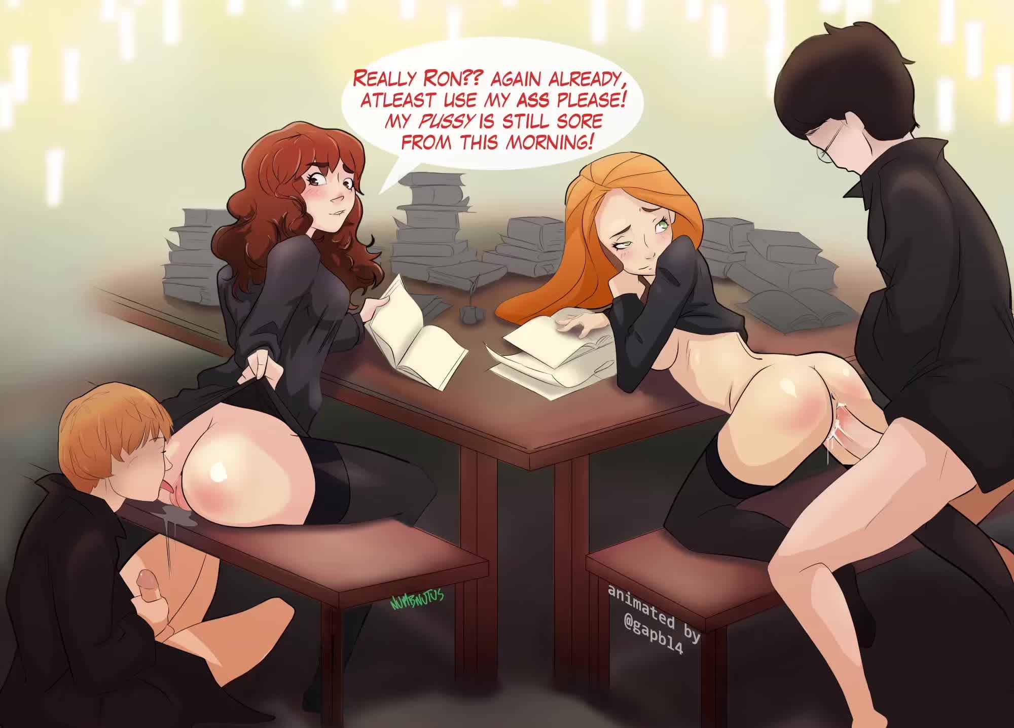 potter weasley ginny hentai and Harry