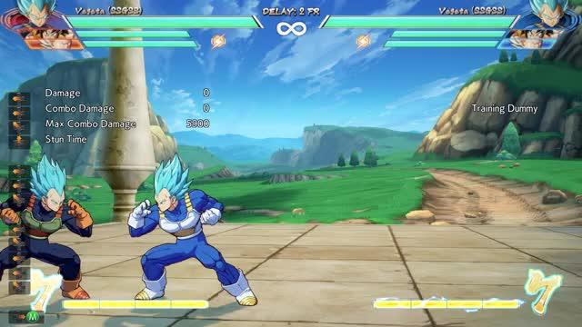 Watch DRAGON BALL FighterZ 2018.04.24 - 02.54.32.02.DVR GIF on Gfycat. Discover more vegeta blue corner reposition setups GIFs on Gfycat