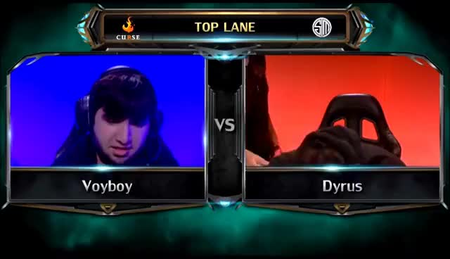 Dyrus at LCS