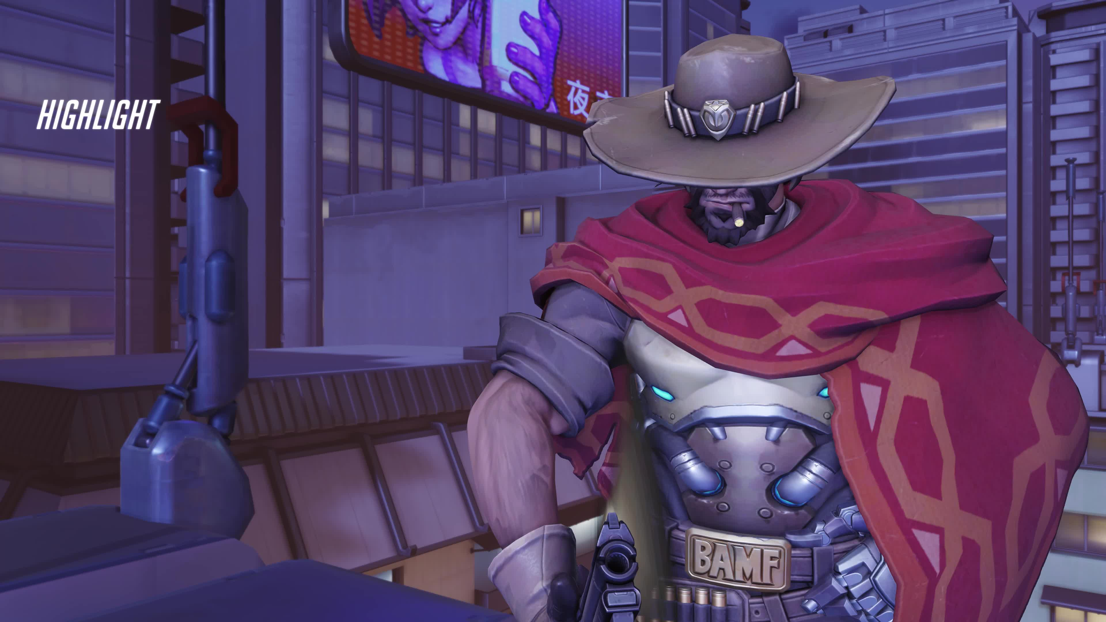 highlight, mccree, overwatch, Flick of the Wrist GIFs